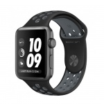 Фото - Apple Apple Watch Nike+ 42mm Space Gray Aluminum Case with Black/Cool Gray Nike Sport Band (MNYY2)