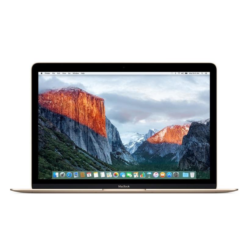 Купить - Apple Apple MacBook 12' (8/256Gb) Gold (MLHE2)