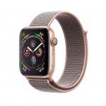 Фото - Apple Apple Watch Series 4 (GPS) 40mm Gold Aluminium Case with Pink Sand Sport Loop (MU692)