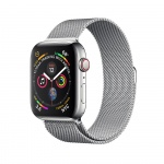Фото - Apple Apple Watch Series 4 (GPS + Cellular) 40mm Stainless Steel Case with Milanese Loop (MTUM2)