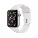 Фото - Apple Apple Watch Series 4 (GPS + Cellular) 40mm Silver Aluminum Case with White Sport Band