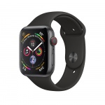 Фото - Apple Apple Watch Series 4 (GPS + Cellular) 40mm Space Gray Aluminium Case with Black Sport Band (MTUG2)