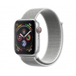 Фото - Apple Apple Watch Series 4 (GPS + Cellular) 40mm Silver Aluminium Case with Seashell Sport Loop (MTUF2/ MTVC2)