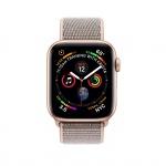 Фото Apple Apple Watch Series 4 (GPS + Cellular) 40mm Gold Aluminium Case with Pink Sand Sport Loop