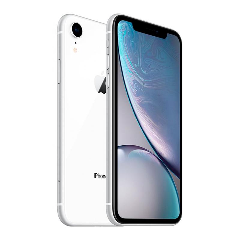 Купить - Apple iPhone Xr White Dual Sim 64Gb