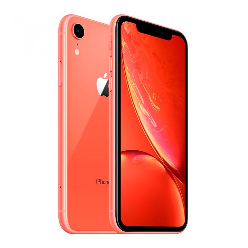 Купить - Apple iPhone Xr Coral Dual Sim 128Gb