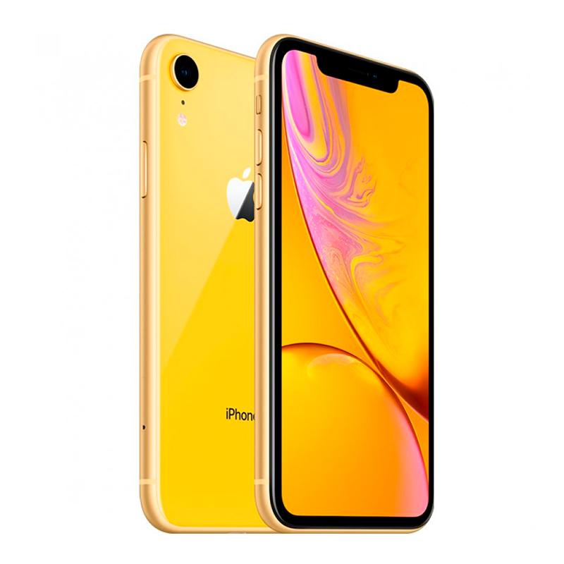 Купить - Apple iPhone Xr Yellow Dual Sim 128Gb