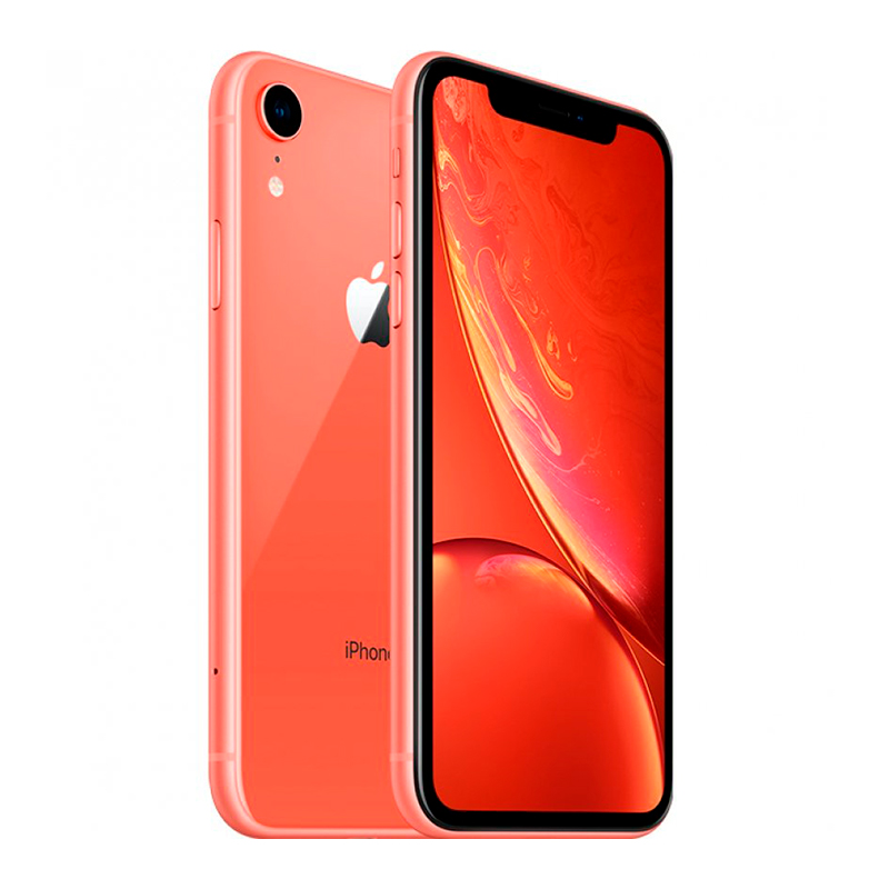 Купить - Apple iPhone Xr Coral Dual Sim 256Gb