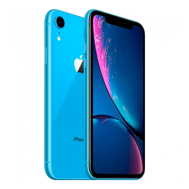 Купить - Apple iPhone Xr Blue Dual Sim 256Gb