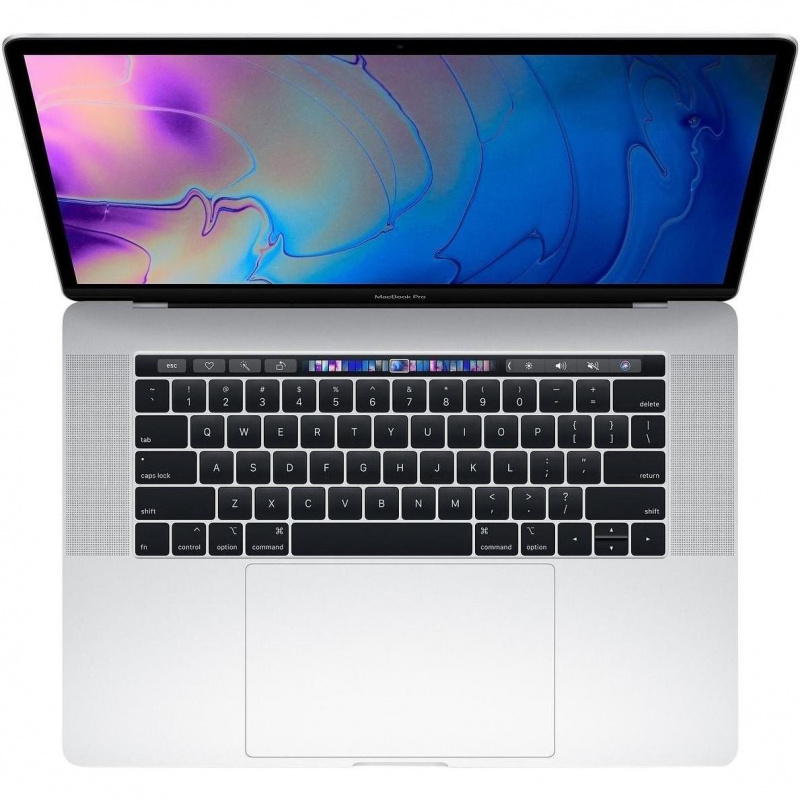 Купить - Apple Macbook Pro 15' Retina Silver (i7 2.6GHz/256Gb SSD/16Gb/Radeon Pro 555X with 4Gb) with TouchBar 2019 (MV922)