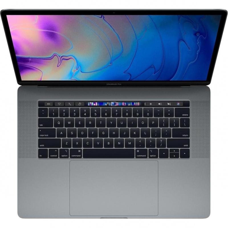 Купить - Apple Macbook Pro 15' Retina Space Gray (i9 2.4GHz/512Gb SSD/16Gb/Radeon Pro 560X with 4Gb) with TouchBar 2019 (Z0WV0012M)