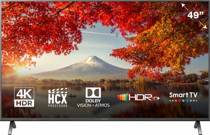Купить - Panasonic Телевизор Panasonic 49' LED 4K TX-49HXR900 Smart, MyHomeScreen, Black (TX-49HXR900)