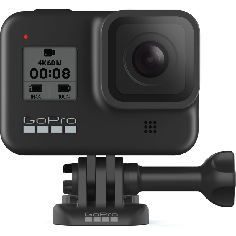 Купить - GoPro Экшн-камера GoPro HERO8 Bundle (CHDRB-801)