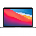 Фото - Apple MacBook Air 13' Space Gray Late 2020 (Apple M1/16Gb/512GB SSD/8 Core GPU) (Z125000DL)