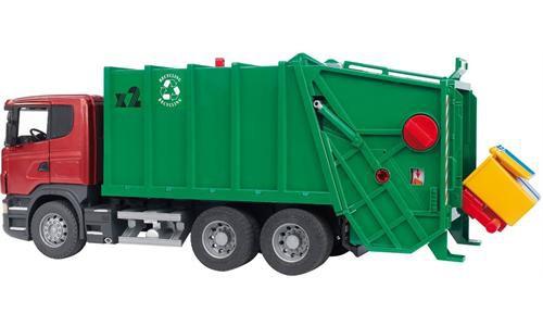 Купить -  Bruder мусоровоз Scania М1:16 (03561)