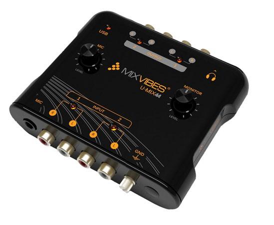 Купить -  MixVibes U-mix 44 usb (U-MIX44)