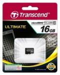 Фото -  Transcend MicroSDHC 16GB (Class10)