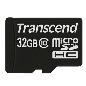 Купить -  Transcend MicroSDHC 32GB (Class 10)