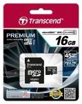 Фото -   Transcend Premium microSDHC 16GB Class 10 UHS-1