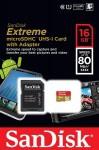 Фото -  SanDisk microSDHC 16GB eXtreme Class10