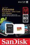 Фото -   SanDisk microSDHC 32GB eXtreme Class10