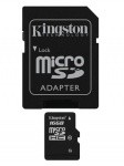 Фото -  Kingston MicroSDHC 16GB (Class 10) + SD адаптер
