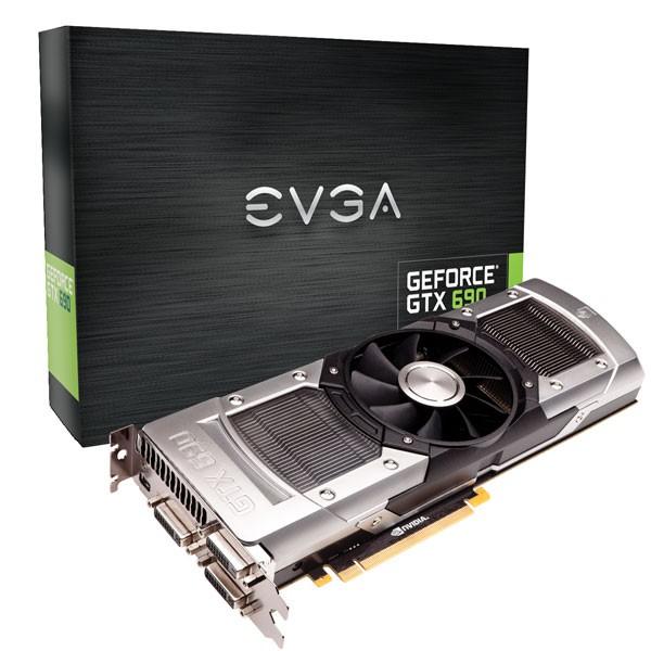 Купить -  EVGA GeForce GTX 690 4GB (04G-P4-2690-KR)  (ГАРАНТИЯ 2ГОДА)