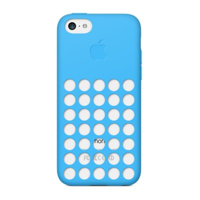 Купить -  Чехол  Apple iPhone 5c Case - Blue MF035