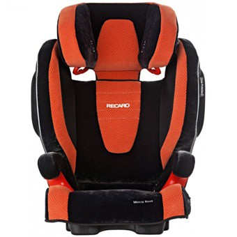 Купить -  RECARO Monza Nova SeatFix Microfibre Orange (6147.21106.66)
