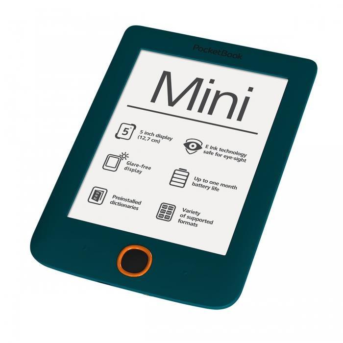 Купить -  PocketBook Mini зеленый (PB515-N-WW)