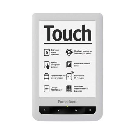 Купить -  PocketBook Touch 622, белый (PB622-D-UA)