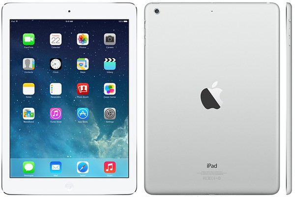 Купить - Apple Apple A1474 iPad Air Wi-Fi 128GB Silver (ME906TU/A)
