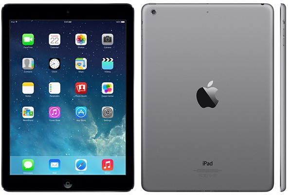 Купить - Apple Apple A1474 iPad Air Wi-Fi 64GB Space Gray (MD787TU/A)