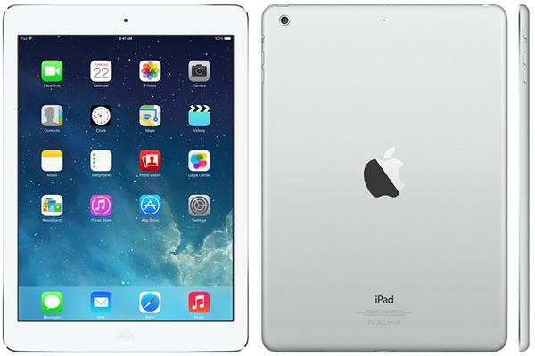 Купить - Apple Apple A1474 iPad Air Wi-Fi 16GB Silver (MD788TU/B)
