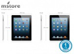 Фото  Apple A1458 iPad with Retina display Wi-Fi 128GB (black) (ME392 )