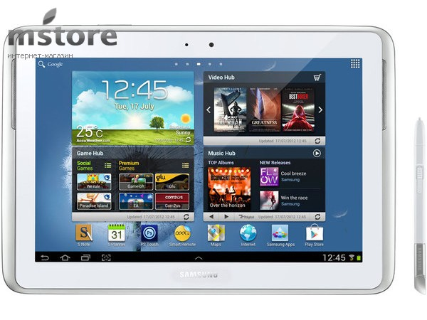 Купить -  Samsung Galaxy Note 10.0 GT-N8000  White 32Gb