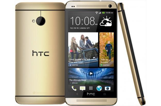 Купить -  Смартфон HTC 801e One (M7) Gold