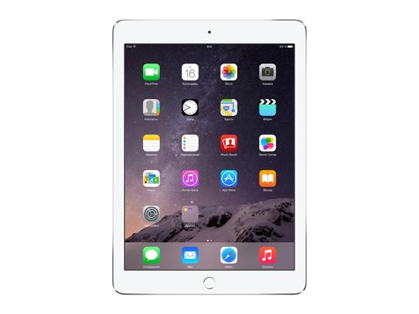 Купить -  Apple iPad Air 2 Wi-Fi 128GB Silver (MGTY2TU/A)