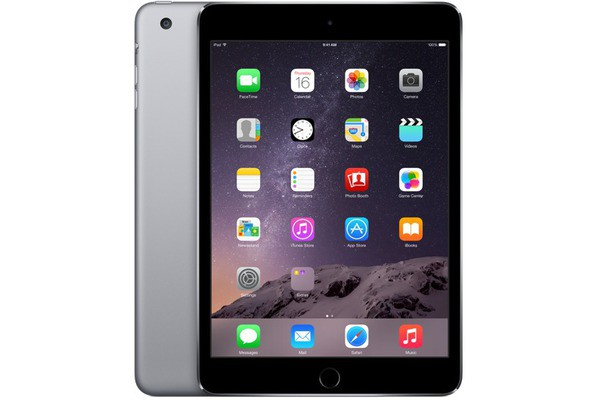 Купить -  Apple iPad mini 3 Wi-Fi 128GB Space Gray (MGP32TU/A)