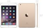 Фото  Apple iPad mini 3 Wi-Fi 64GB Gold (MGY92TU/A)