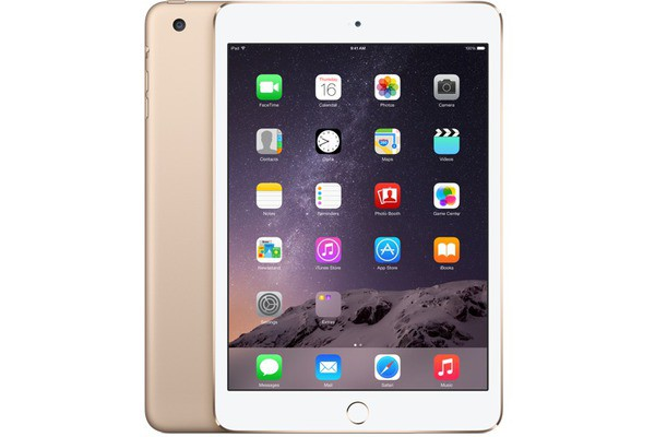 Купить -  Apple iPad mini 3 Wi-Fi 128GB Gold (MGYK2TU/A)