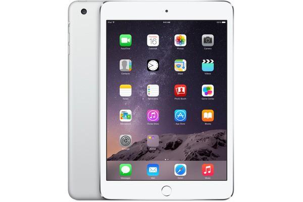 Купить -  Apple iPad mini 3 Wi-Fi 4G 128GB Silver (MGJ32TU/A)