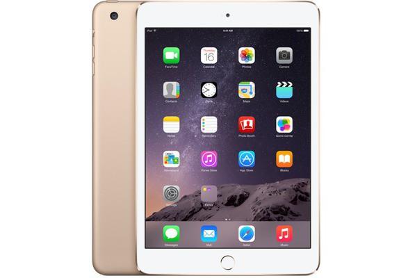 Купить -  Apple iPad mini 3 Wi-Fi 4G 64GB Gold (MGYN2TU/A)