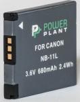 Фото - PowerPlant Aккумулятор PowerPlant Canon NB-11L(DV00DV1303)