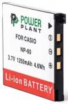 Фото - PowerPlant Aккумулятор PowerPlant Casio NP-60(DV00DV1227)