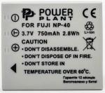 Фото - PowerPlant Aккумулятор PowerPlant Fuji NP-40, KLIC-7005,D-Li8/ Li-18, Samsung SB-L0737(DV00DV1046)