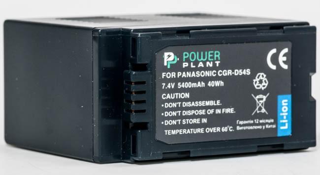 Купить - PowerPlant Aккумулятор PowerPlant Panasonic CGA-D54S(DV00DV1249)