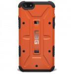Фото -  Чехол Urban Armor Gear iPhone 6 Outland (Orange) IPH6-RST-VP