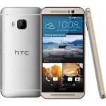 Фото -  HTC One M9 Gold on Silver