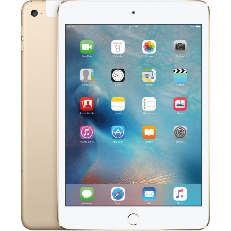 Купить -  Apple iPad mini 4 Wi-Fi 128GB Gold (MK9Q2RK/A)